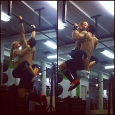 power pullup - must do! :)