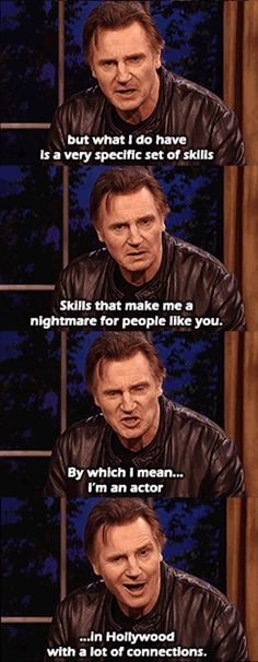 A personal message from Liam Neeson to President Putin  // funny pictures - funny photos - funny images - funny pics - funny quotes - #lol #humor #funnypictures