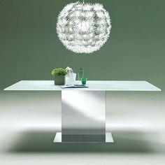 Oasi Extra White #Glass #Table