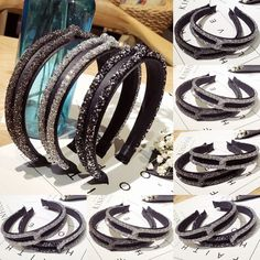 Women Girls Bling Rhinestone Crystal Headband Twisted Hairband Hair  Accessories  fashion  clothing  shoes 6019d1e91546