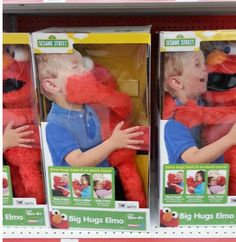 Elmo The Friendly Childrens Toy