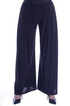 Pantaloni jerse negri