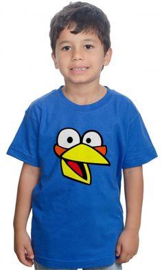 Dica #palcofashion #Camiseta - Angry Birds The Blues #moda #fashion