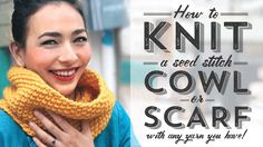 How to Knit a Seed S