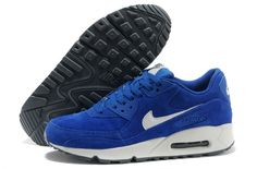 detailed look 21a83 af167 Mejor Nike Air Max 90 Blanco Venta Azul Zapatillas, mens shoes