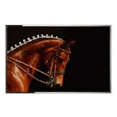 Special Order Design: Luxury Swarovski Crystal Embellished Wall Art: Dressage Pony * 110 x 170 cm  * Custom Sizes Available