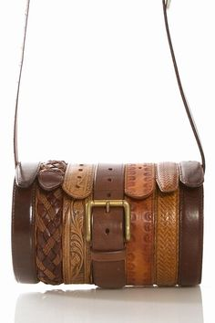 #diy #belt #old #bag