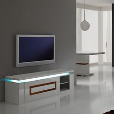 Highlight The Beauty Of Your Simple Walls By Placing This TVstand Against It Stand InTv