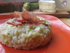 Il risotto zucchine speck e brie è un primo piatto veloce che unisce il delicato sapore delle zucchine al profumo affumicato dello speck.
