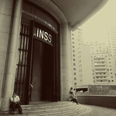 """Foto by Talita Borges  #saopaulocity #inss"""