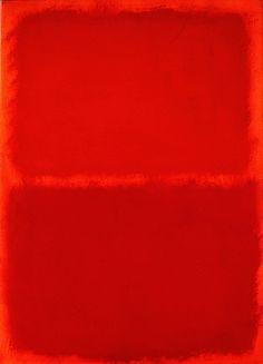 Orange, Red, Orange by Mark Rothko