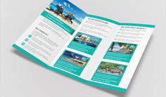 travel brochure template printable new free travel brochure template 3 fold tadlifecare of travel brochure template printable Brochure Examples, Free Brochure, Business Brochure, Travel Brochure Design, Travel Brochure Template, Travel And Tourism, Free Travel, Tri Fold Brochure Size, Free Flyer Templates