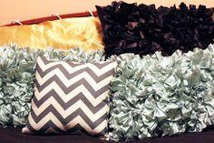 Chevron Canvas Pillow DIY