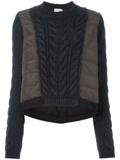 You'll find a great selection of women's designer knitted jumpers at Farfetch. Search from over 2000 designers for the latest designer knitted sweaters Knitwear Fashion, Knit Fashion, Refashioning, Cable Knit Sweaters, Streetwear Fashion, Winter Fashion, Sweaters For Women, My Style, Stylish