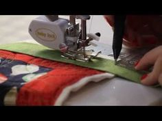 How to Machine Bind Your Quilts - Fat Quarter Shop - YouTube