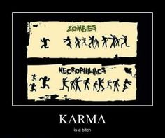 Zombies versus necrophiliacs