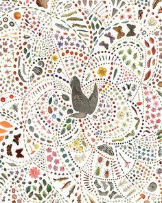 Adrienne Slane's Naturalistic Collages Celebrate the World
