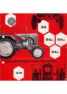 Tractorbrochures.com/Steyr 80 - 280 Steyr, Monster Trucks, Vehicles, Car, Automobile, Autos, Cars, Vehicle, Tools