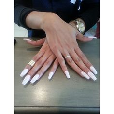 French Tip Nail Salon photos ❤ liked on Polyvore featuring beauty products and nail care