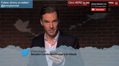 "Benedict Cumberbatch and others read out ""Mean Tweets"""