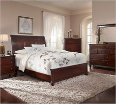 Romantic Wine And Chocolate Master Bedroom Deep Eggplant