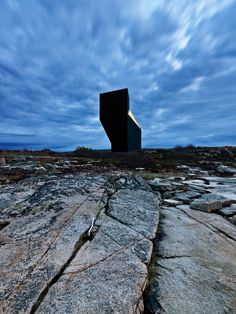 'tower studio' by saunders architecture, fogo island, newfoundland, canada.