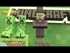 Minecraft Paper Craft Toys and #Minecraft Action Figures - Video Filmed at The London Toy Fair 2014 by Clubit TV
