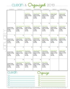 clean + organized january 2013 pic