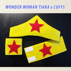 Wonder Woman felt tiara. Dressup run wear costume by ShipsNGiggles, $15.00