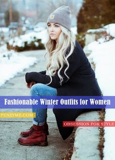 45 Chic and Warm Winter Outfits for Women. #Fashion #WinterWear #WomenStyle