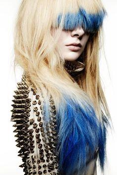 Royal Blue Hair Chalk - Hair Chalking Pastels - Temporary Hair Color - Salon Grade - 1 Large Stick $1.99