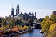 As the nation's capital, Ottawa is home to many financial, commercial and federal establishments.Running right through the heart of the city, the Rideau Canal is Ottawa's star attraction. In winter the canal becomes the world's largest ice skating ring