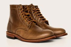 Oak Street Bootmakers: Natural Chromexcel Trench Boot