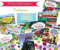 Best of Usborne Trains Books