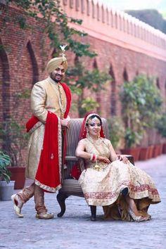 Royal punjabi couple wedding in india related pics indian wedding couple ph New Wedding Dress Indian, Punjabi Wedding Couple, Indian Wedding Couple Photography, Wedding Couple Photos, Punjabi Couple, Sikh Wedding, Indian Wedding Outfits, New Wedding Dresses, Wedding Photography Inspiration
