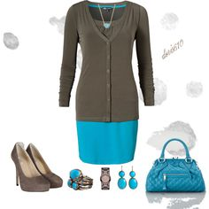 """""""2 in 1 Dress"""" by doris610 on Polyvore"""