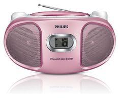 bol.com   Philips AZ105 - Radio/cd-speler - Roze   Elektronica