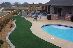 Southwest greens offers Denver, Colorado quality artificial turf that's perfect for indoor and outdoor putting greens. Landscaping With Rocks, Outdoor Landscaping, Landscaping Ideas, Outdoor Putting Green, Best Artificial Grass, Artificial Grass Installation, Synthetic Lawn, Desert Backyard, Dream Garden