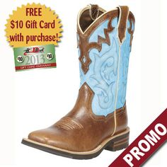 ROPER LADIES UNBRIDLED MID-CALF COWBOY BOOT COYOTE BROWN-Big Dee's Tack & Vet Supply  Bought them! Love!!