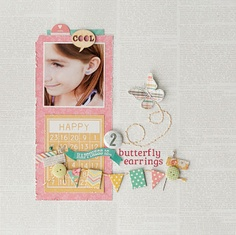 Paisley Petals: More Birds of A Feather Kit Co. May Kit {Simple Stories: Vintage Bliss}