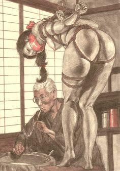 """the-shibari-school: source : """"???"""" by Muku Youji"""