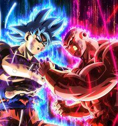 dragon ball super by on DeviantArt Dragon Ball Gt, Dragon Ball Image, Best Anime On Netflix, Super Goku, Goku Vs Jiren, Mega Anime, Goku Wallpaper, Glitch Wallpaper, Anime Pictures