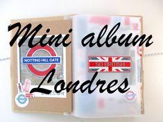 Mini album enveloppes Londres