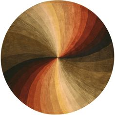 @Overstock.com - Hand-tufted Swirl Wool Rug (6' Round) - Modern elegance and fine craftsmanship enrich your home or office decor Area rug hand-tufted in India of 100-percent wool pile Contemporary multicolor swirl motif  http://www.overstock.com/Home-Garden/Hand-tufted-Swirl-Wool-Rug-6-Round/2327300/product.html?CID=214117 AUD              274.20