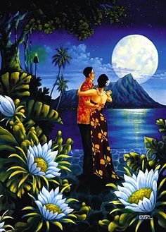 Vintage Hawaii art                                                                                                                                                                                 More