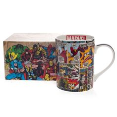 Caneca Marvel Comics HQ - 460 mL