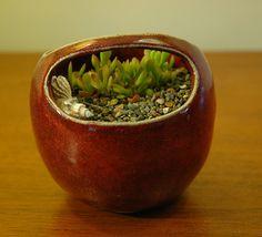 Pinch Me Ceramics: Red Ceramic Pinch Pot.