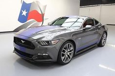 eBay: 2015 Ford Mustang 2015 FORD MUSTANG 5.0 GT PREMIUM 6-SPEED NAV 20'S 15K #375479 Texas Direct Auto #ford #mustang usdeals.rssdata.net