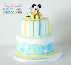 Baby #Mickey #Cake  #SweetcheeksMelb