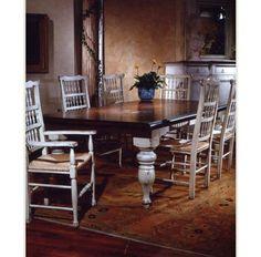 Harvest Table with Two Leaves | Habersham 37-1010 | Boyles.com